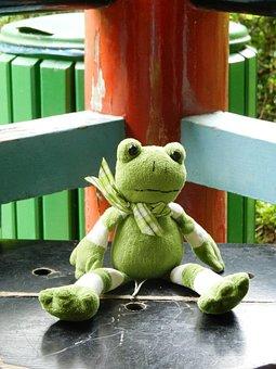 The Frog, żabka, The Mascot, Plush, Pet, Toy, Eyes
