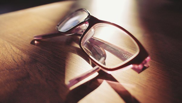 Eyeglasses, Lenses, Reading, Looking, Sight, Vision