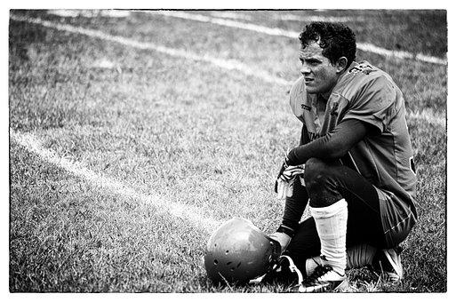 Sport, American Football, Defeat, Failure, Fight