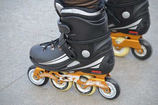 Rollerblade, Skate, Boots, Skating, Equipment, Sports