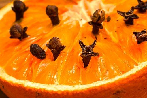 Studded Orange, Clove, Syzygium Aromaticum, Spice