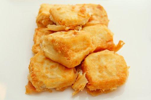 Food, Fried, Tofu