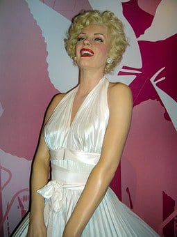 Marilyn Monroe, Wax Figure, Actor, Woman, Art, Viewing