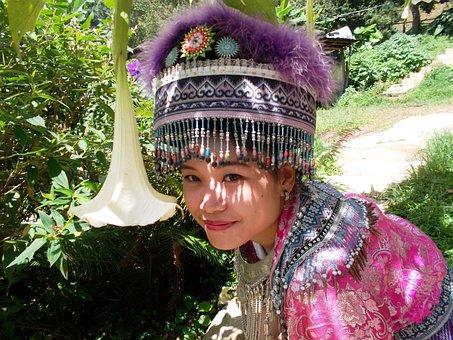 Girl, Chiangmai, Pretty, Cute, Woman, Costumes