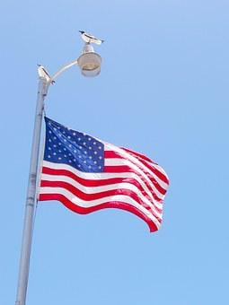 Usa, Flag, American, National, Wind, America, Outdoor