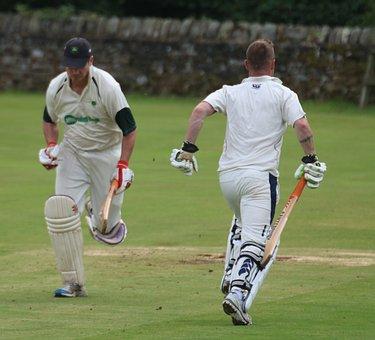 Cricket, Batsmen, Batter, Game, Sportsmen, Batting, Bat