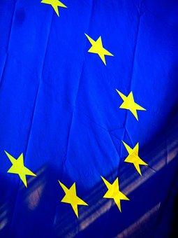 Europe Flag, Europe, Blue, Emblem, Recognize, Flag