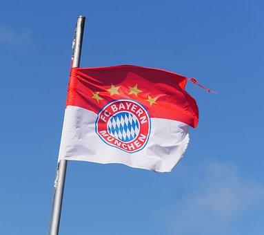 Fc Bayern Munich, Club Flag, Sturmerprobt, Bundesliga