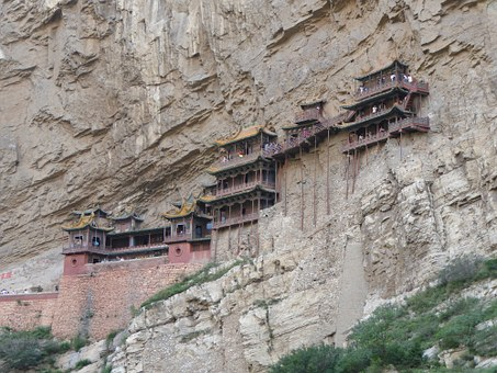 Xuankong Si, Hanging Temple, Shanxi Province, China