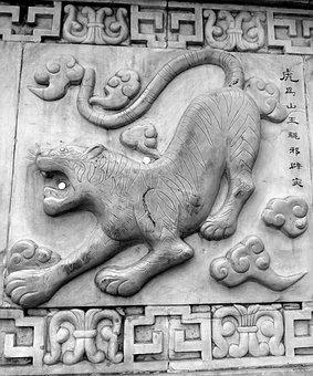 Yin, Tiger, Symbol, Taoism, Asian, Chinese