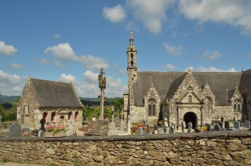 Church, Wall, Ossuary, Cemetery, Bones, Religion, Faith