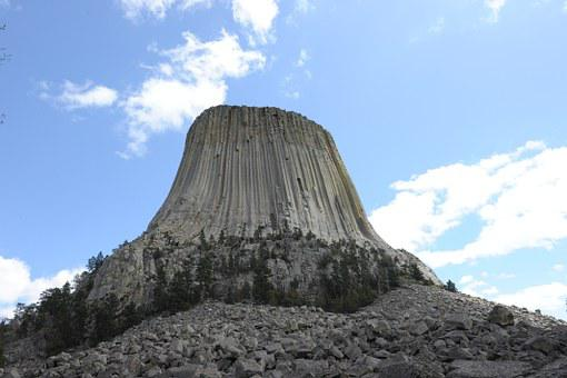 Devils Tower, Monument, Wyoming, Rock, Climbing