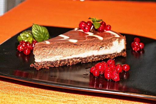 Food, Chocolate, Dessert, Sweet, Delicious, Cheesecake