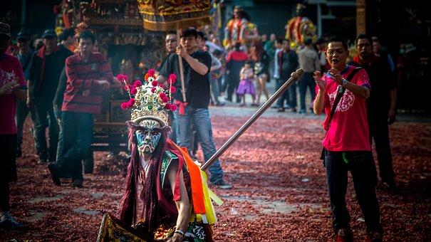 Temple, Taiwan, Taoism, Clairvoyance, Fair, God