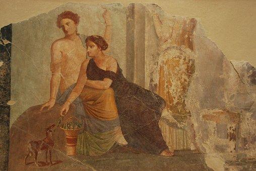 Fresco, Mural, Art, History, Old, Museum, Louvre, Lens
