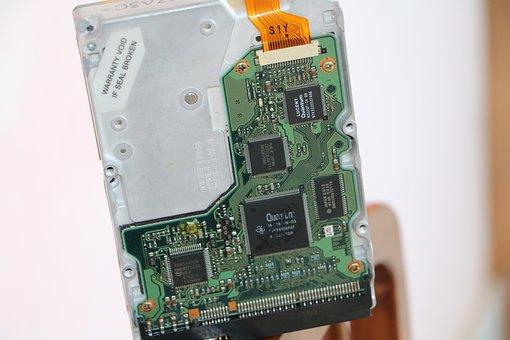 Harddisk, Data, Drive, Hardware, Storage, Disk, Old