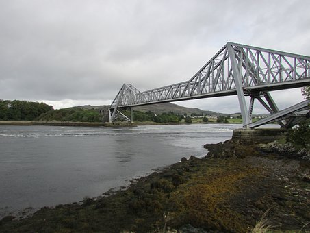 Connel, Bridge, Scotland, Iron Bridge, Steel Bridge