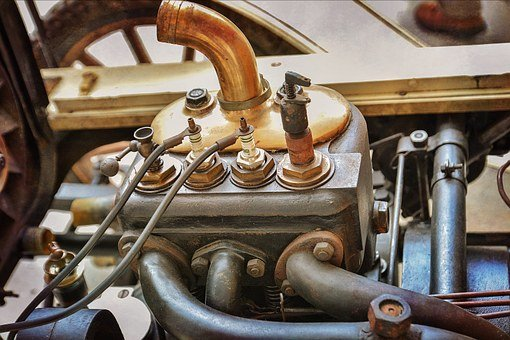 Motor, Engine Block, Machine, Technology, Workshop