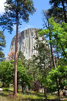 Devils Tower, Wyoming, Monument, National, Devils