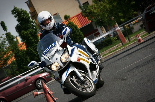 Police Officer, Motorcycle Cop