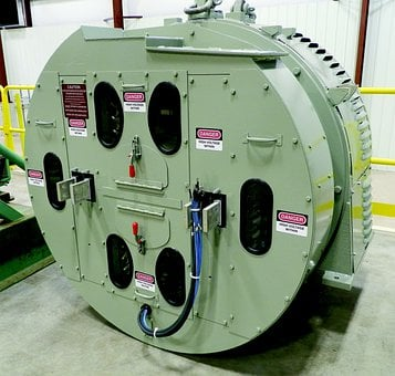 Railroad Generator, Test Stand, Generator Testing