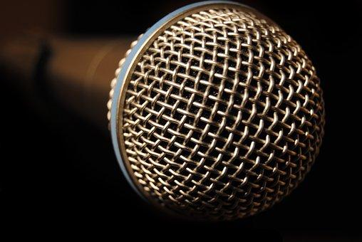 Microphone, Record, Speak, Talk, Mic, Shure Beta 58