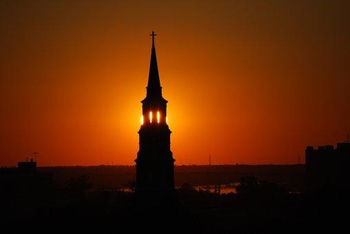 Church, Steeple, Spire, Charleston, South Carolina