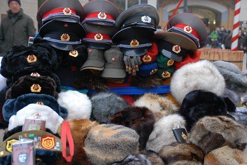 Berlin, Christmas, Hats, Anger, Soviet, Souvinir