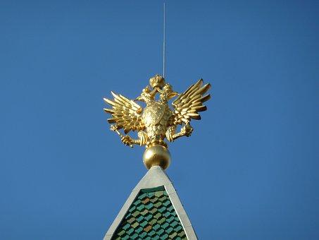 Russian, Double Eagle, Symbol, Russia, Eagle, Empire