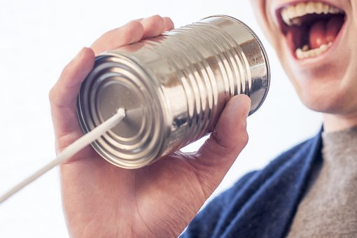 Speak, Talk, Microphone, Tin Can, Can, Tin, Mouth, Say