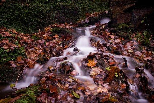 Waterfall, Long Exposure, Water, Exposure, Long, River
