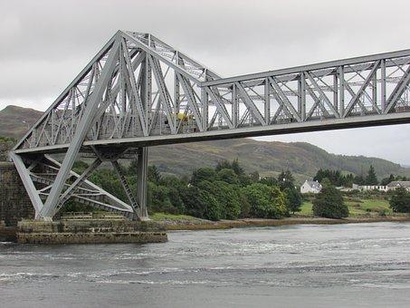 Scotland, Connel Bridge, Iron Bridge, West Coast