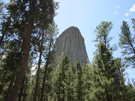 Wyoming, Devil's Tower, National Park