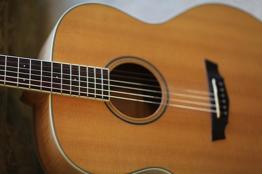 Guitar, Acoustic Guitar, Instrument, Music, Wood