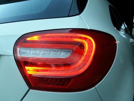 Back Light, Reflector, Car Tail Light, Auto, Light