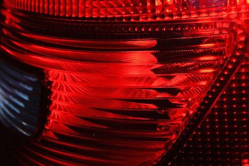 Auto, Back Light, Reflector, Stop Lamp, Car Tail Light