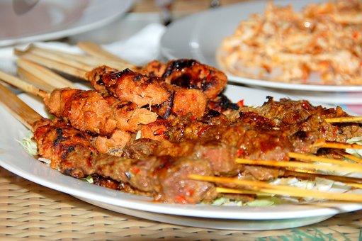 Sate, Bali, Food