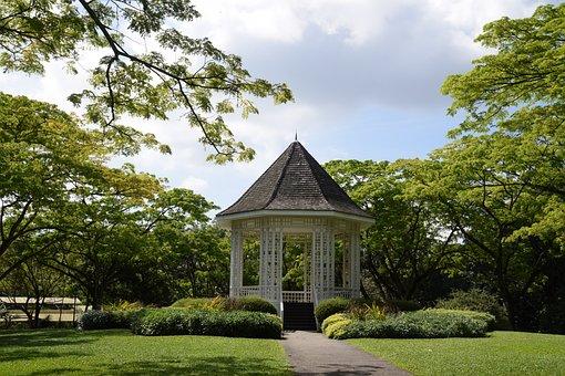 Singapore, Botanical Garden, Bandstand