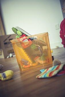 Box, Mess, Toys