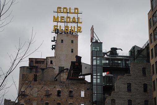 Gold Metal Flour, Minneapolis, Minnesota, Building