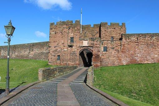 Carlisle, Castle, Cumbria, Gatehouse, History