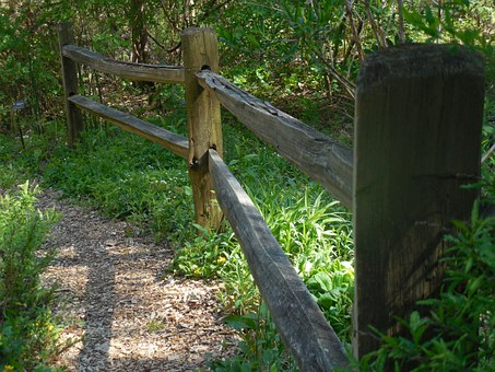 Wooden, Fence, Wood, Natural, Old, Design, Board