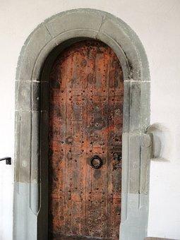 Church, Reformed, Door, Molding Box, Sand Stone