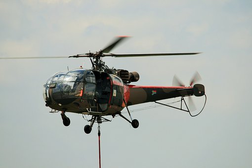Helicopter, Chopper, Copter, Flight, Aircraft, Sky