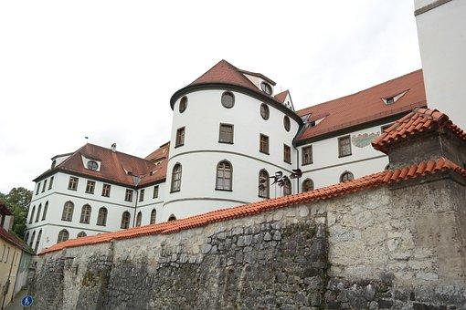 St Mang Abbey, Füssen, Monastery, Benedictine