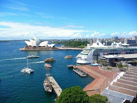 Australia, Sydney, Harbor View