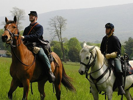 Harpers Ferry, West Virginia, Soldiers, Cavalry