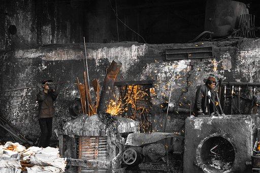 Iron, Melt, Furnace, Metal, Hot, Fire, Metallurgical