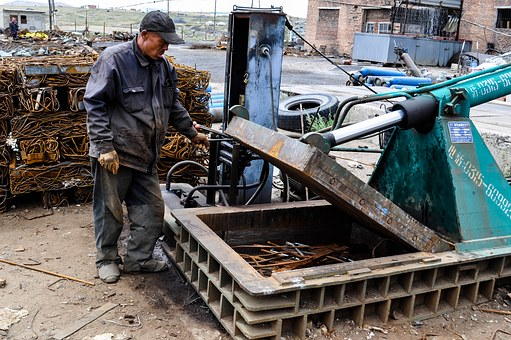 Worker, Chinese, Metal, Job, Foundry, Work, Asian