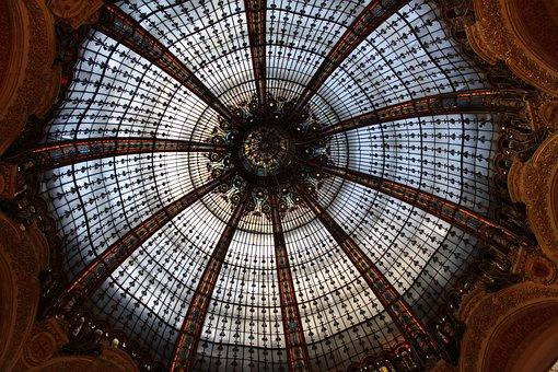 France, Paris, Department Store, Gallery, Lafayette